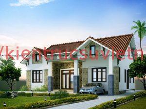 nhà cấp 4 mái thái 10x13m  300x225 - Nhà cấp 4 mái tôn đẹp