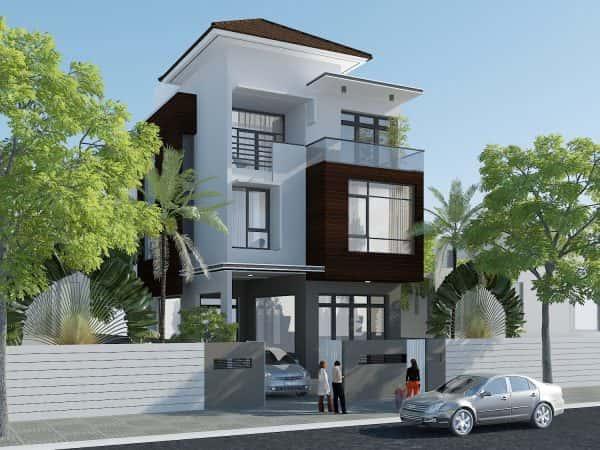 tu van xay nha 8x9m dep e1503924437452 - Thiết kế nhà 3 tầng đẹp