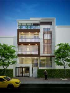 013 225x300 - Mẫu thiết kế nhà đẹp ở Thái Nguyên