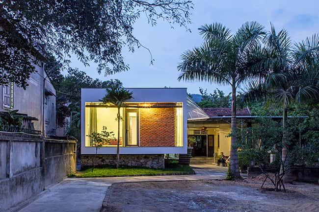 150050baoxaydung image001 - Nhà 1 tầng ở vùng nông thôn miền núi đẹp với 3 phòng ngủ
