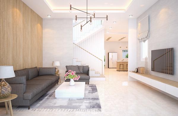 Biệt thự 2 tầng chữ L đẹp pk - Thiết kế biệt thự 2 tầng chữ L đẹp và chuyên nghiệp nhất hiện nay