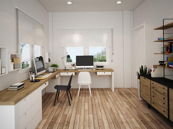 Biệt thự 2 tầng chữ L đẹp plv - Thiết kế biệt thự 2 tầng chữ L đẹp và chuyên nghiệp nhất hiện nay