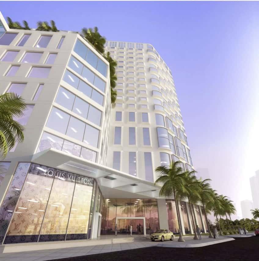 PENINSULA COMLPEX 1 - Thiết kế toà nhà phức hợp cao tầng quận 7, TPHCM