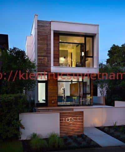 mau nha pho 2 tang 5x20 dep e1515377640437 - Bộ sưu tập những mẫu thiết kế nhà  đẹp
