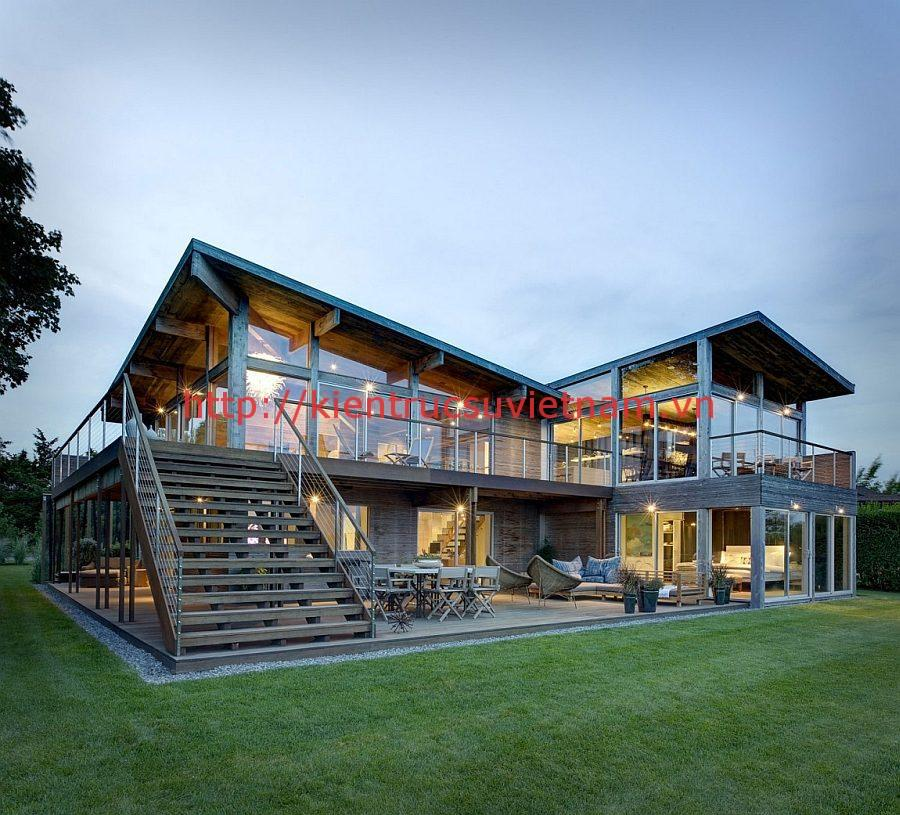 nhà khung thép 5 - 21 Mẫu thiết kế nhà được nhiều người thích thú hiện nay