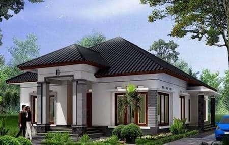 Thiết kế nhà trệt đẹp hiện đại kinh phí từ 500 triệu