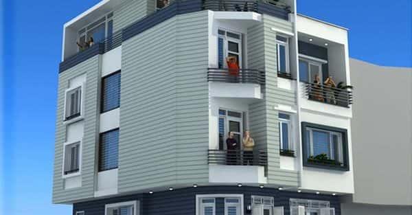 45 Mẫu nhà đẹp hai mặt tiền với kiến trúc hiện đại