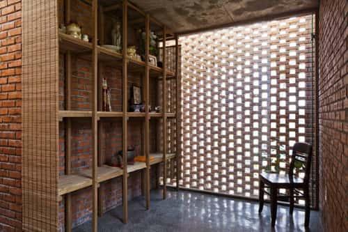 Tư vấn xây nhà bằng gạch thẻ đẹp, gạch nung chất lượng