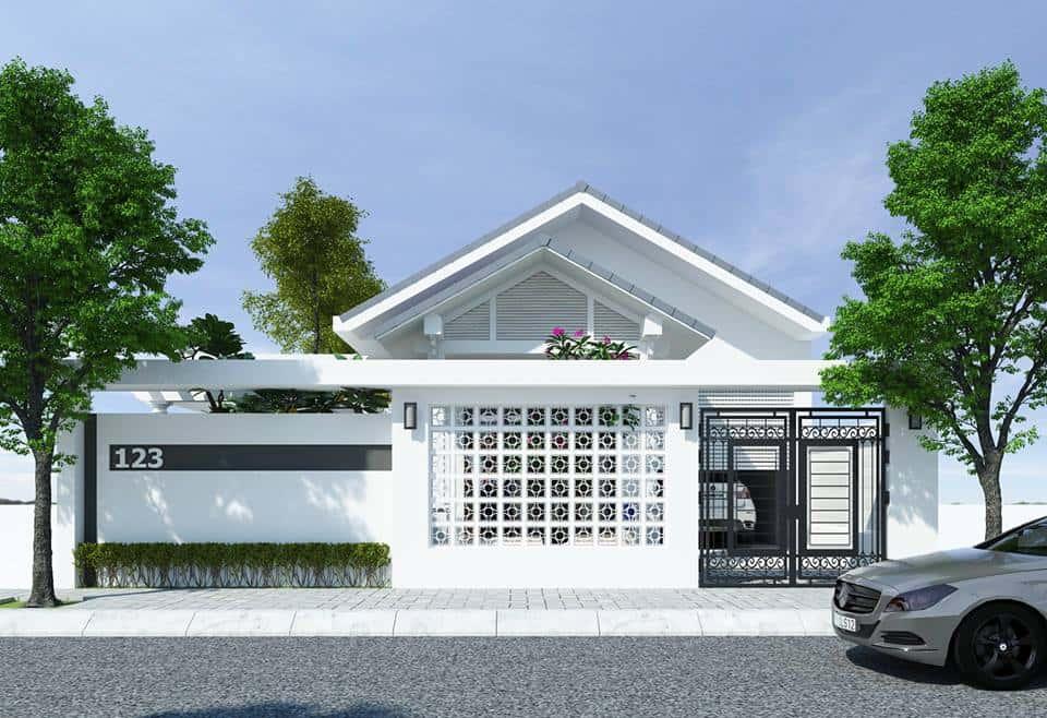 tu van xay nha cap 4 - Top 15 mẫu nhà cấp 4 đẹp được nhiều người thích lựa chọn xây dựng