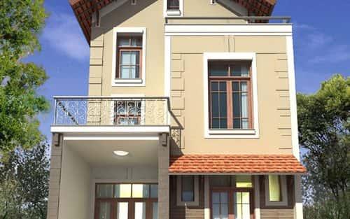 Tư vấn xây nhà diện tích 5x13m.