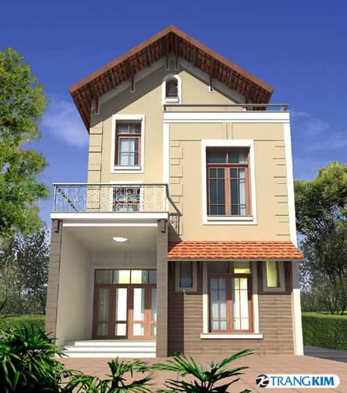 tu van xay nha dien tich 6x10m - Thiết kế nhà Huế đẹp tối ưu công năng chuẩn phong thuỷ