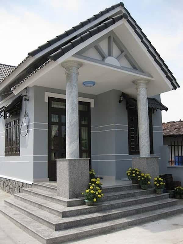 tu van xay nha gia re - Bộ sưu tập các mẫu thiết kế nhà đẹp ở nông thôn Việt Nam