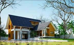 Tư vấn xây nhà ở quê đẹp