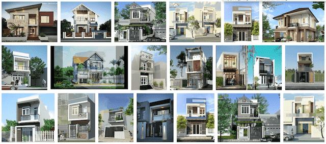 xay nha 2 tang voi 400 trieu - Thiết kế nhà Hải Phòng | 1000 mẫu nhà đẹp phong cách ấn tượng