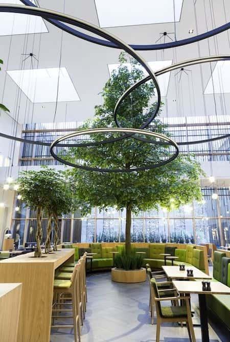 thiet ke quan cafe dep 7 - Những phong cách kiến trúc cafe được ưa chuông hiện nay