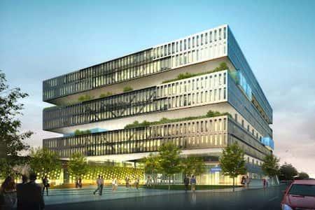 Thiết kế trụ sở công ty doanh nghiệp văn phòng