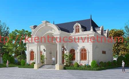 Thiết kế biệt thự Pháp