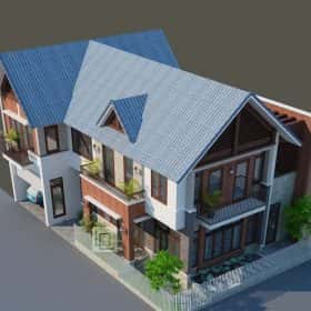 biet thu dep 3 e1574050010285 280x280 - Mẫu thiết kế biệt thự đẹp ở Hà Nam