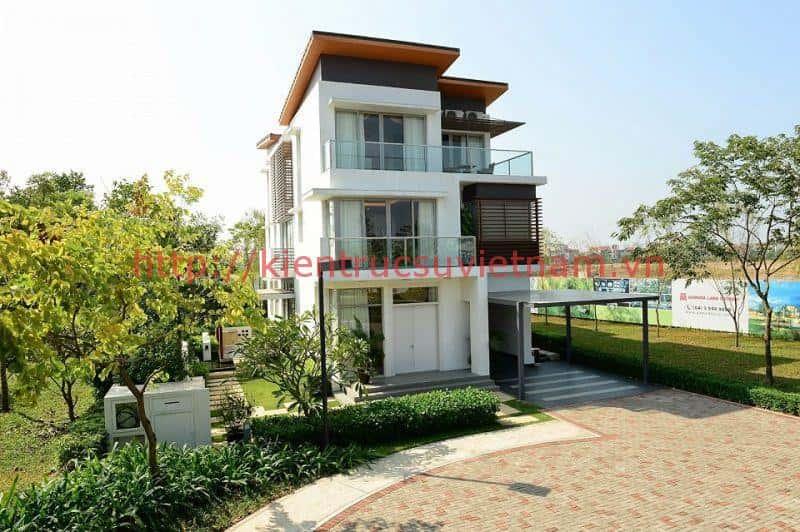 biet thu don lap - Thiết kế biệt thự ở Nha Trang