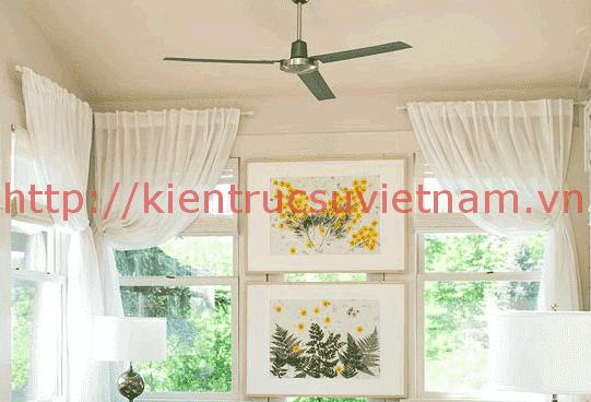 Tự làm rèm treo cửa sổ