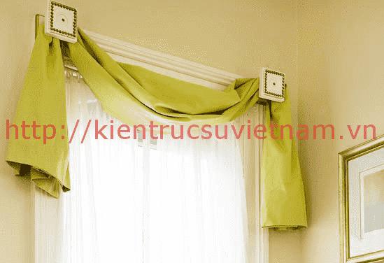 Cách làm rèm treo cửa đẹp