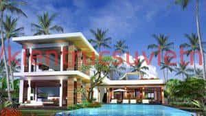 thiet ke biet thu bien 2 300x169 - Top 10 mẫu thiết kế biệt thự biển đẹp sang trọng