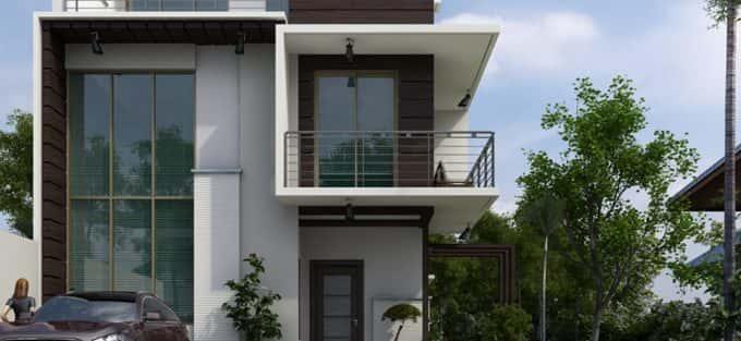 Tổng hợp mẫu thiết kế nhà 2 tầng 5x10m