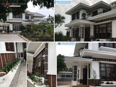 biet thu nha vuon 2 tang 400x300 - Tham khảo các mẫu thiết kế biệt thự nhà vườn 2 tầng đẹp, chi phí xây dựng tiết kiệm