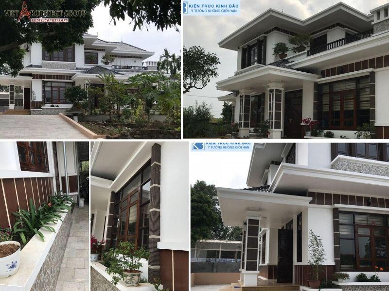 biet thu nha vuon 2 tang - Tham khảo các mẫu thiết kế biệt thự nhà vườn 2 tầng đẹp, chi phí xây dựng tiết kiệm