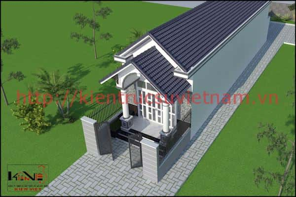 mau nha tret dep 520m ninh kieu can tho 4 - Công trình thiết kế nhà trệt đẹp 5*20m Ninh Kiều, TP Cần Thơ