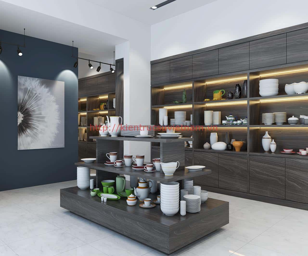 pc5 - Thiết kế Showroom gốm sứ Minh Châu, Ninh Kiểu Cần Thơ