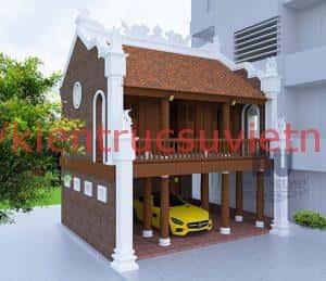 tham khao cac mau nha tho ket hop nha o dep 4 300x259 - Tham khảo các mẫu nhà thờ kết hợp nhà ở đẹp 2018