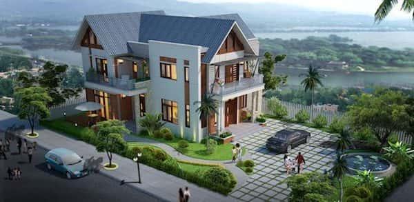 Tổng hợp các mẫu thiết kế biệt thự đẹp tháng 11