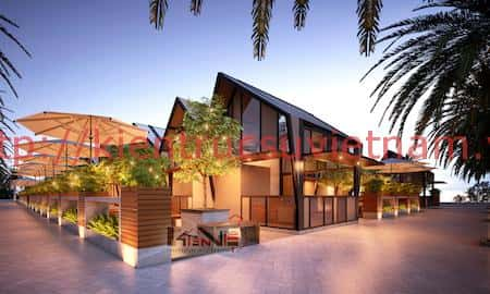 thiet ke nha hang ninh kieu can tho 1 - Thiết kế nhà hàng sang trọng quận Ninh Kiều, tp Cần Thơ