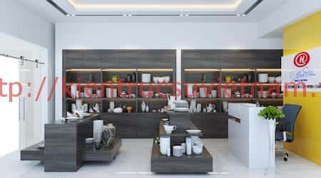 thiet ke showroom gom su minh chau 4 - Thiết kế Showroom gốm sứ Minh Châu, Ninh Kiểu Cần Thơ