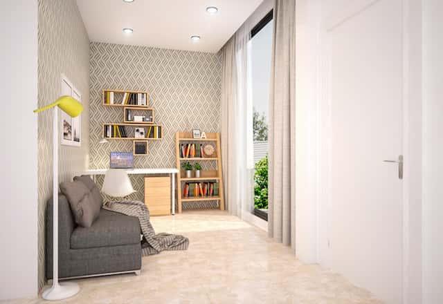 biet thu mini dep kts phan dinh kha sinh hoat chung v1 - Thiết kế biệt thự phố mini 3 tầng kiến trúc hiện đại đẹp