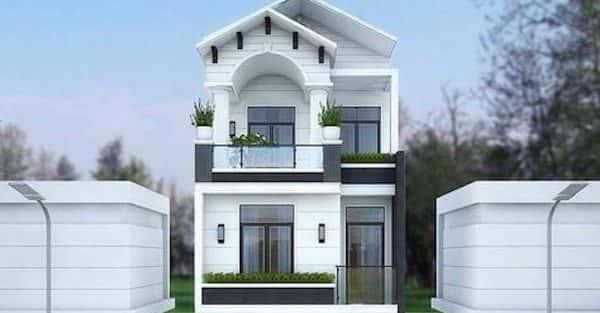 Thiết kế nhà phân lô 3,4,5 tầng