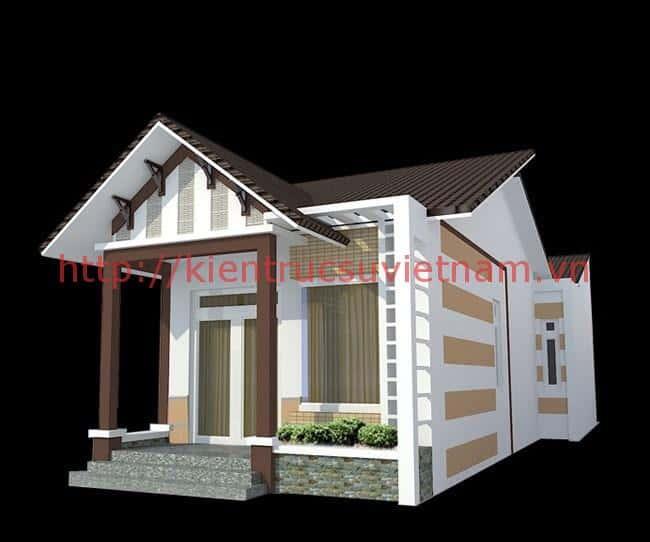 mau nha cap 4 tret dep - 21 Mẫu thiết kế nhà được nhiều người thích thú hiện nay
