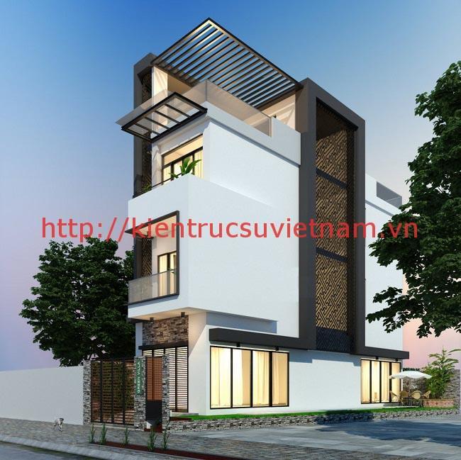 nhà 3 tầng - 21 Mẫu thiết kế nhà được nhiều người thích thú hiện nay