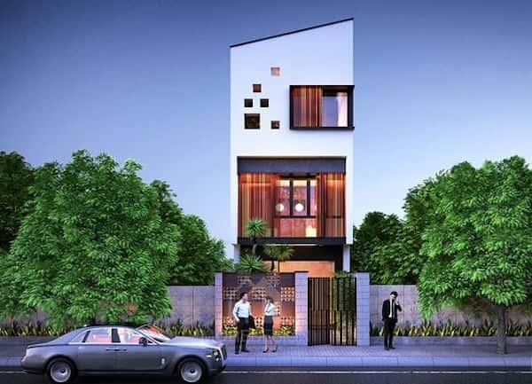 nha 3 tang dep 5 - Thiết kế nhà 3 tầng đẹp