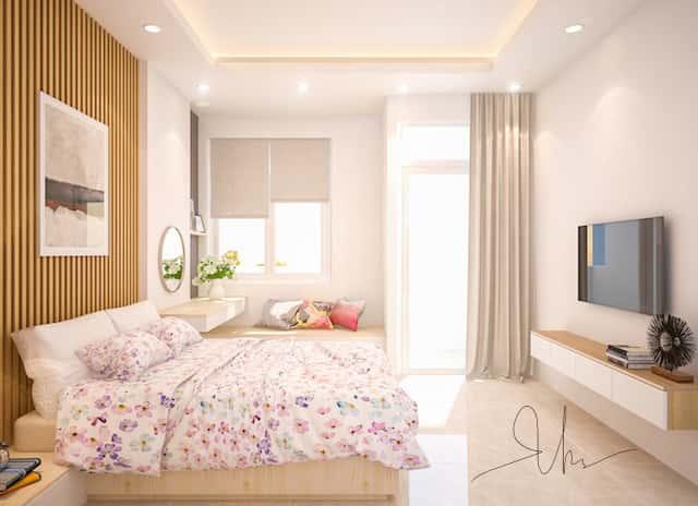 noi that nha pho ms van binh thanh ngu 1 v1 - Thiết kế nhà 5 tầng đẹp hiện đại chị Vân ở quận Bình Thạnh
