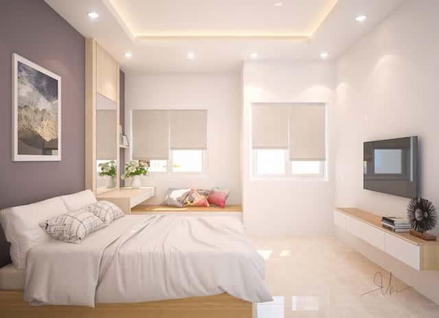 noi that nha pho ms van binh thanh ngu 2 v2 - Thiết kế nhà 5 tầng đẹp hiện đại chị Vân ở quận Bình Thạnh