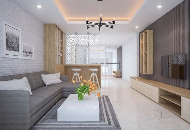 noi that nha pho ms van binh thanh shc v1 - Thiết kế nhà 5 tầng đẹp hiện đại chị Vân ở quận Bình Thạnh
