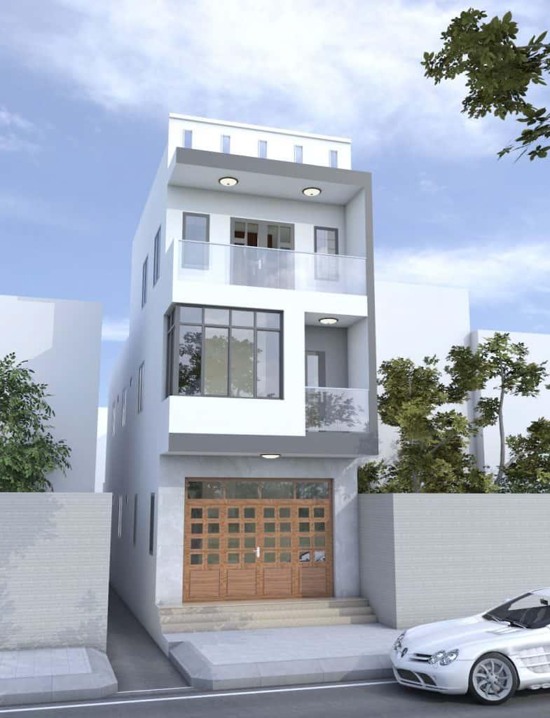 nhà phố 3 tầng có mặt tiền 4.7m