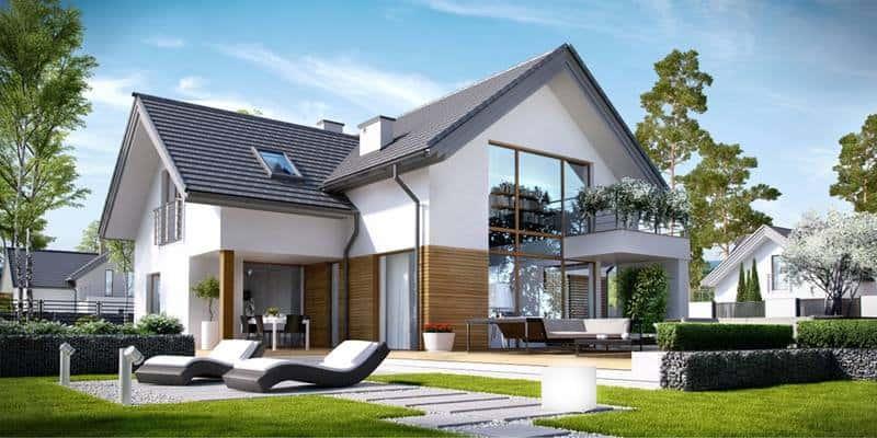 thiet ke biet thu 2 tang chu l 003 - Những mẫu nhà cấp 4 đẹp 100m2 mái thái xây giá từ 500 triệu