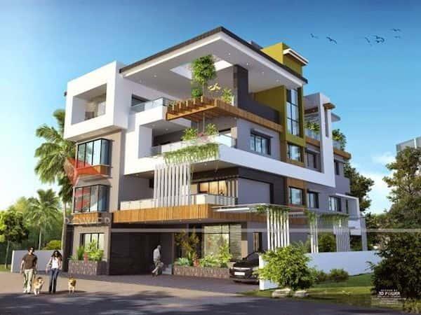 thiet ke biet thu 3 tang 3 1 - Ngôi nhà 3 tầng đẹp như khách sạn 5 sao giữa Sài Gòn