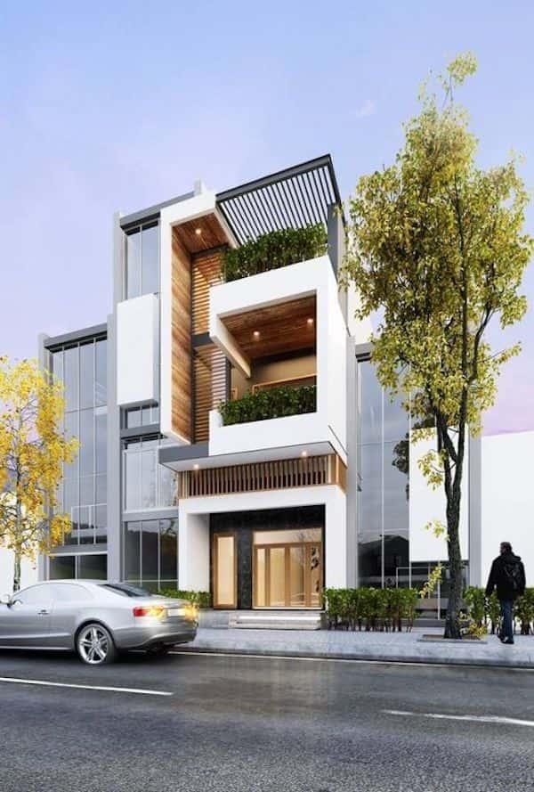 thiet ke biet thu 3 tang 5 1 - Thiết kế nhà 3 tầng đẹp