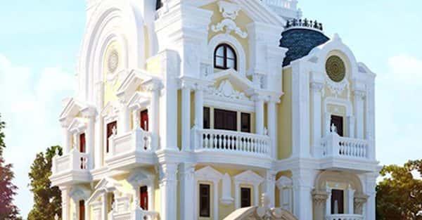 25 Mẫu biệt thự kiểu pháp đẹp đẳng cấp