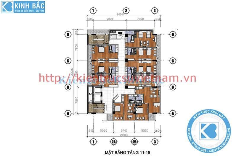 thiet ke khach san 4 sao da nang dep 5 - Thiết kế khách sạn 4 sao với phong cách hiện đại Đà Nẵng