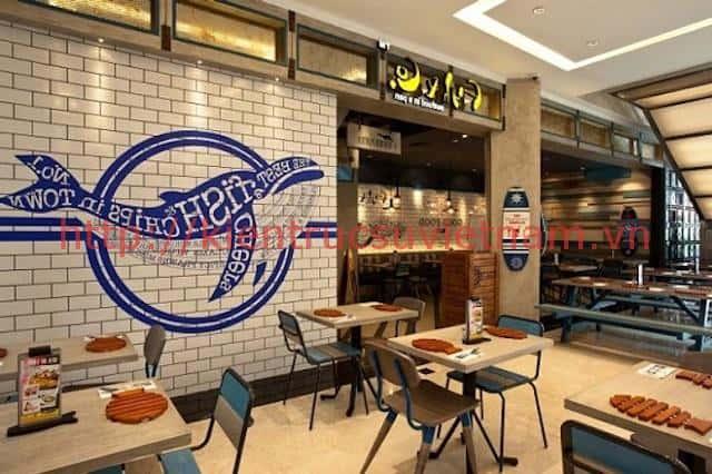 thiet ke nha hang hai san 2018 - Thiết kế nhà hàng hải sản